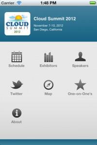Cloud Summit 2012 Mobile App