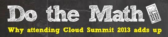Cloud Computing Summit Event 2013 more info and link to Summit website