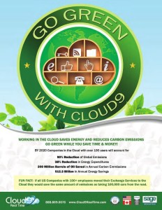 cloud9 is green cloud computing