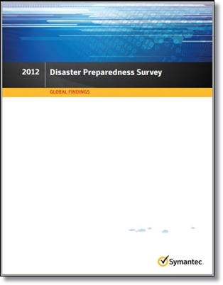cloud computing disaster readiness survey results from Symantec