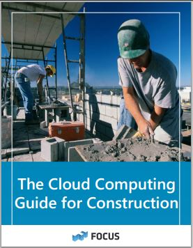 small construction cloud computing guide for small construction contractors.